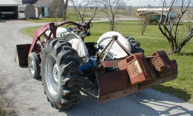 Ford Model A >> Ford 851 tractor with all hydraulic loader for sale