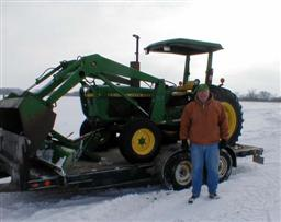 John Deere 2040 Diesel Tractor with Loader