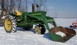 John Deere model 3020 Tractor with Loader