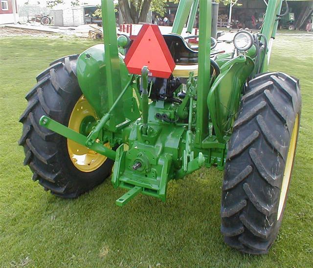 John Deere 2040 Diesel Tractor With Loader For Sale