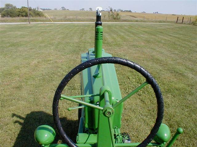 John Deere B Hood : John deere jd tractor for sale