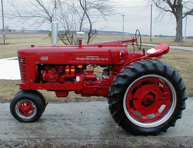 Farmall 400 Tractor : Farmall diesel tractor for sale