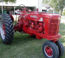 Restored Farmall SMTA Diesel Tractor from Chat's Tractors