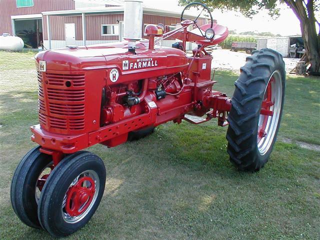 1954 farmall super h tractor for sale