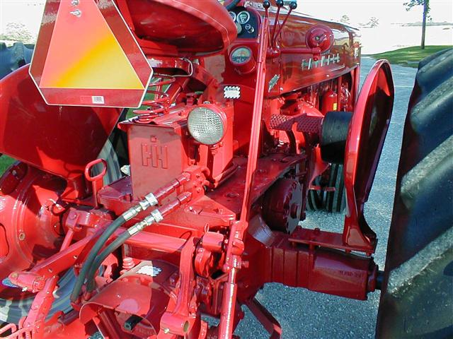 Tires For Sale >> Restored Farmall 400 Tractor with factor power steering for sale