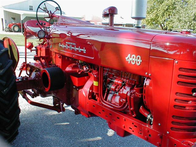 Used Tractors For Sale >> Restored Farmall 400 Tractor with factor power steering ...