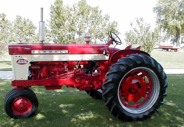 Farmall 460 Parts : Farmall tractor for sale