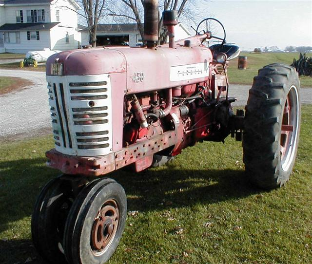 Farmall 450 Tractor With Power Steering For Sale