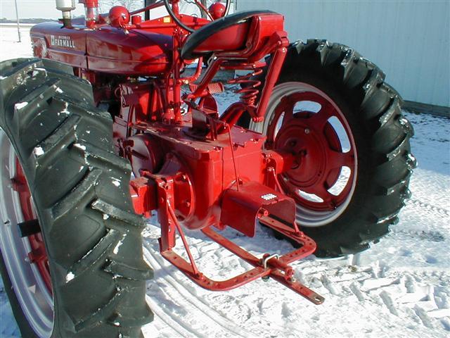 Restored 1941 Farmall M Tractor For Sale