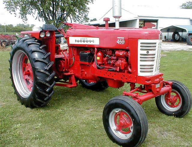 1411 Farmall 450 diesel right profile restored farmall 100 200 230 300 farmall 350 400 farmall 450 560  at gsmx.co