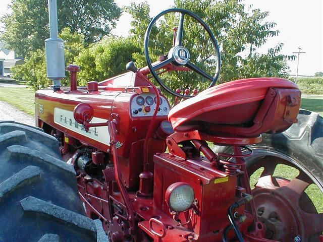12 Volt Motor >> Restored Classic Farmall 350 tractor with Power Steering for sale