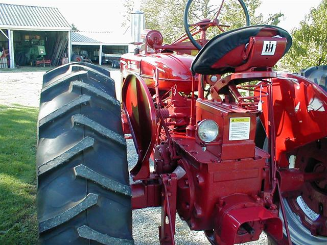 Seat For Farmall Tractor : Farmall super mta tractor for sale