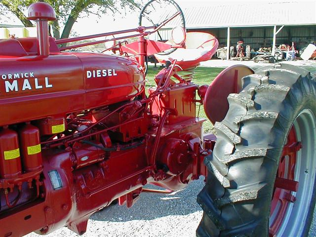 Farmall Super A Seat : Farmall tractor for sale