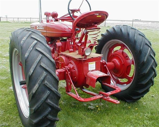 Used Tractor Draw Bars : Farmall m tractor for sale