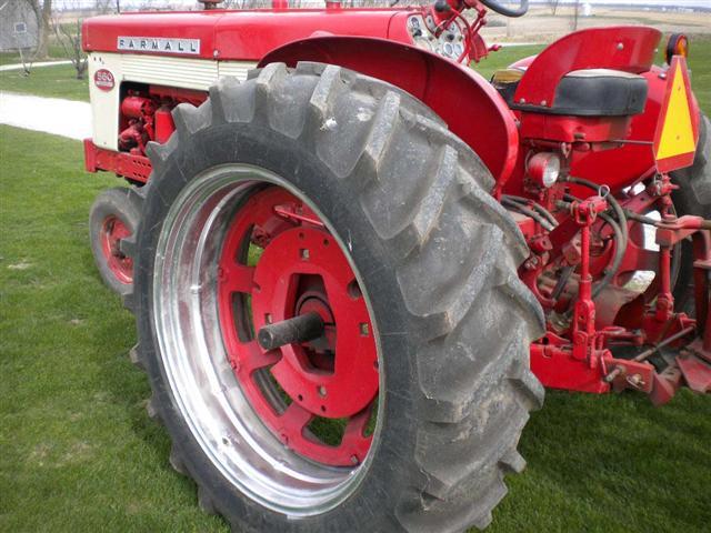 Farmall 560 Rear Wheels : Ih farmall diesel tractor for sale
