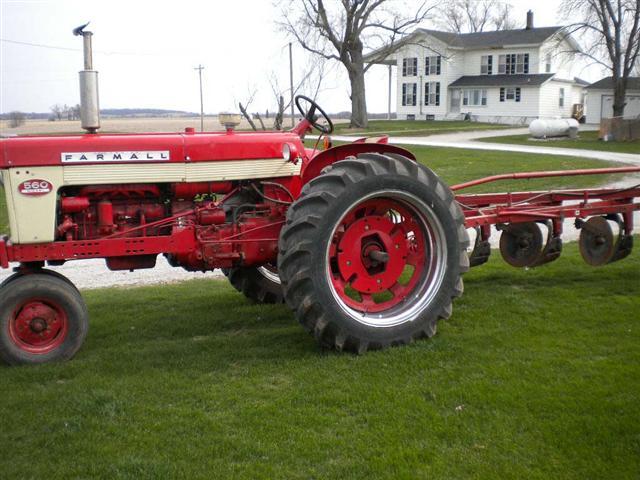 Farmall 560 Tractor : Ih farmall diesel tractor for sale