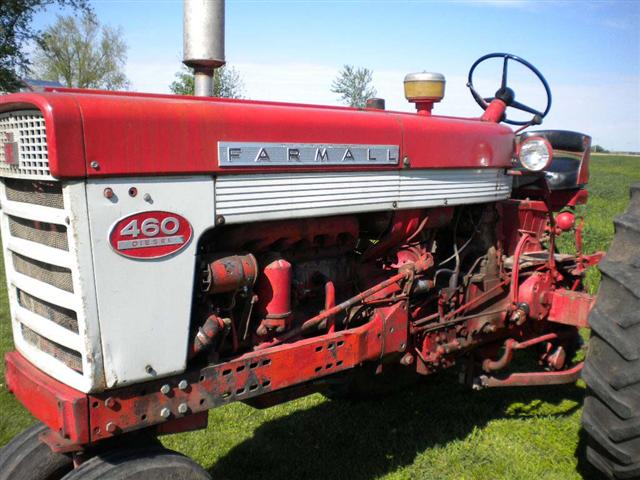 Farmall 460 Tractors for Sale http://www.chatstractors.com/1503-Farmall-460-Diesel-tractor.htm