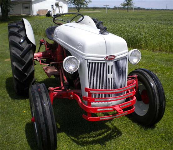 Ford 8n Tractor Front Tires : Ford tractor for sale