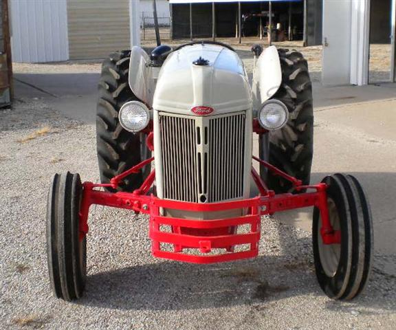 Ford N Tractor Front