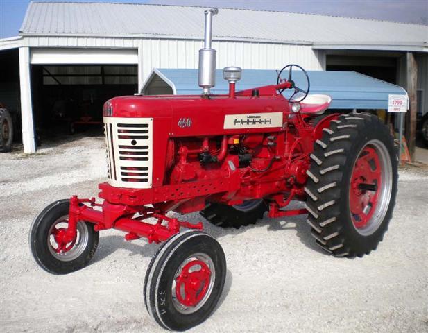 1957 farmall 450 tractor for sale