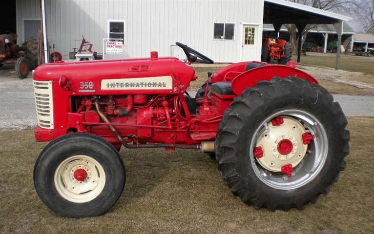 1957 Farmall 35 Utility Tractor For Sale