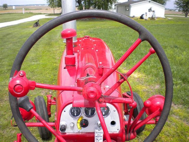 Farmall M Hood : Farmall tractor for sale