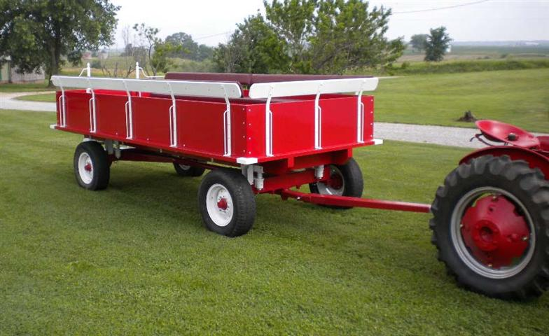 Tractor Pulled Wagon : Parade wagon for sale
