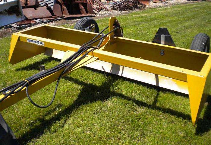 Diamond K Box Scrape blade Land Leveler for sale