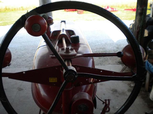Farmall M Hood : Farmall m tractor for sale