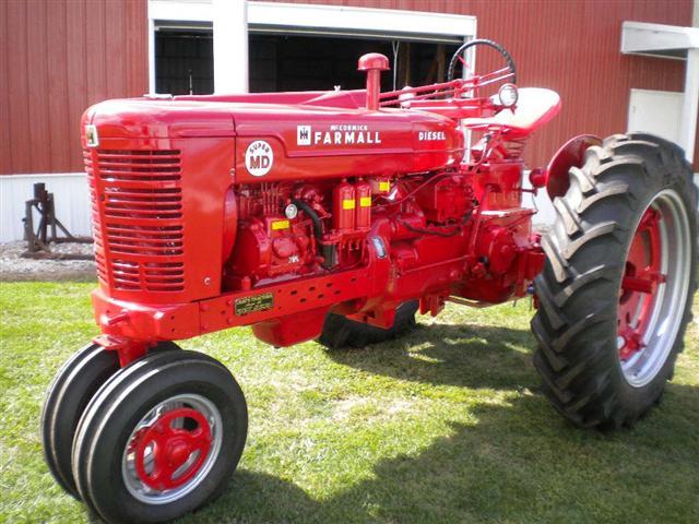 Farmall M Decal : Farmall super m diesel tractor