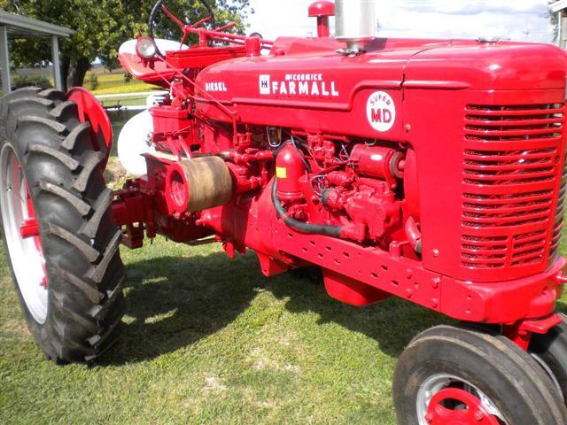 1953    Farmall       Super       M       Diesel    Tractor