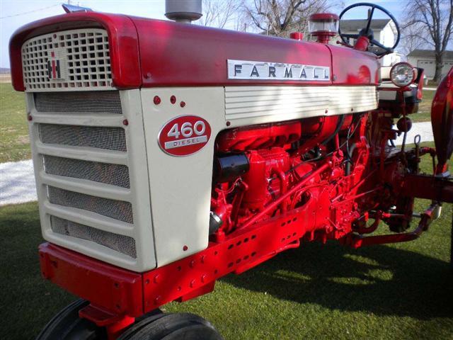 Farmall 460 Parts : Farmall diesel tractor for sale