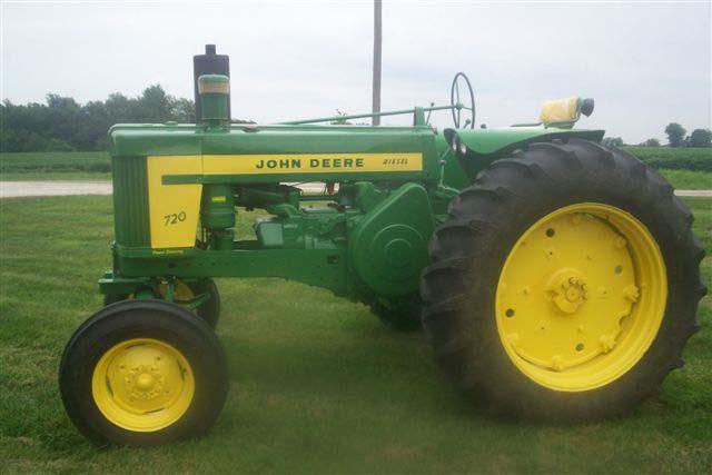 John Deere Flat Top Fenders : John deere diesel tractor for sale