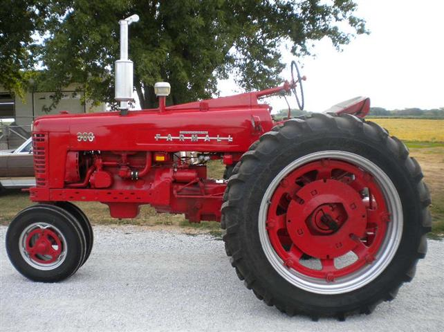 Farmall Left Side