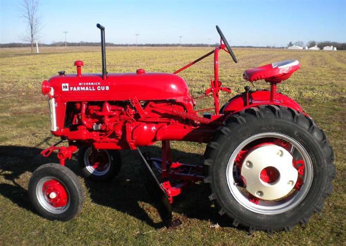 1954 farmall cub tractor for sale