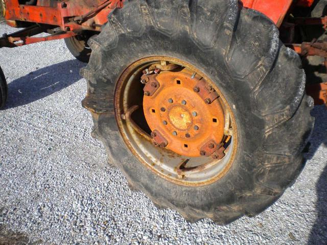 Rear Tractor Rims 15 In : Ac model d series ii with foot snap coupler