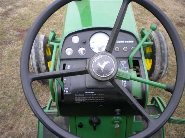 John Deere Model Gas Tractor Steering Guages