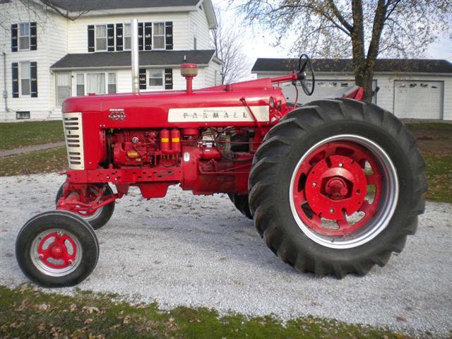 Farmall 450 diesel tractor for sale