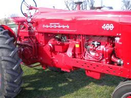 international 400 tractor hydraulic pump