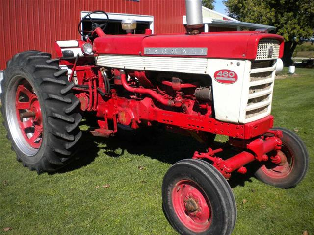 Farmall 460 Tractors for Sale http://www.chatstractors.com/1614-Farmall-460-gas-tractor.htm