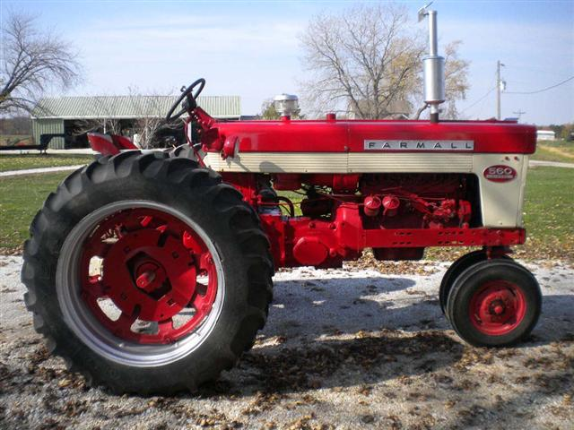 Ih 560 Tractor Power Steering : Farmall row crop tractor for sale