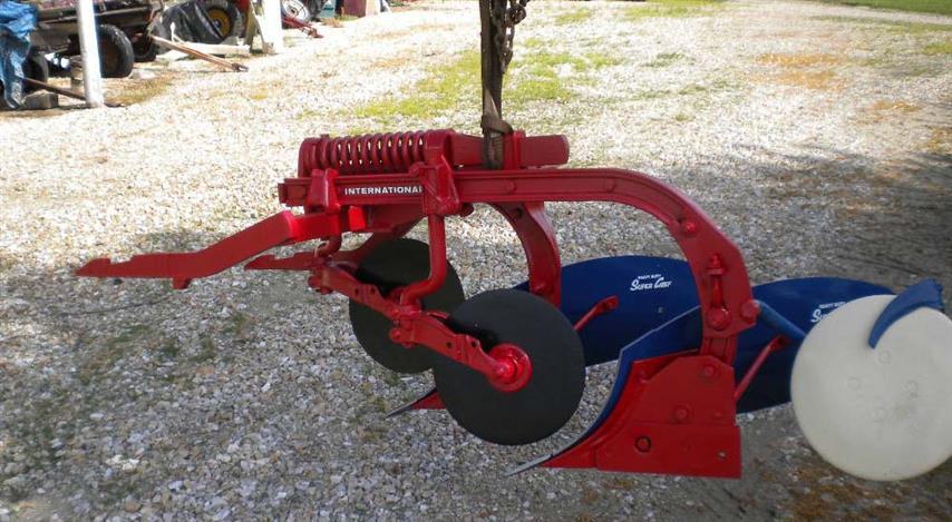 2 bottom slat plow