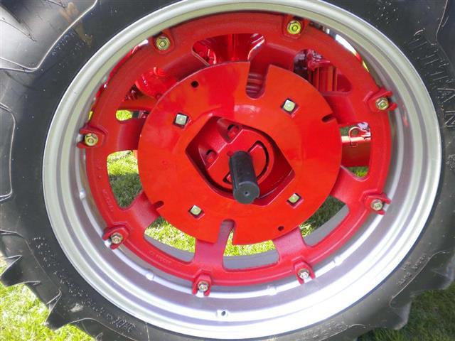 Farmall Rear Rims : Farmall model tractor for sale