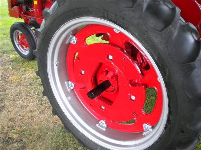 Farmall Rear Rims : Restored farmall super c tractor for sale