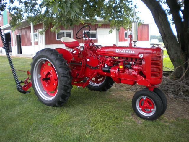 farmall super c implements - photo #5