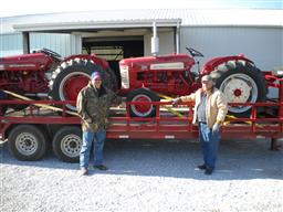 restored farmall 100 200 230 300 farmall 350 400 farmall 450 560 706 diesel tractor wiring diagram robert youngblood and son picking up two recently purchased utility tractor ih 300 and a ih 350 loaded and headed south to east texas
