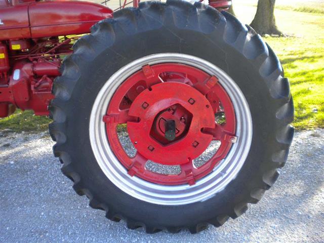 Farmall Rear Rims : Farmall super mta tractor for sale