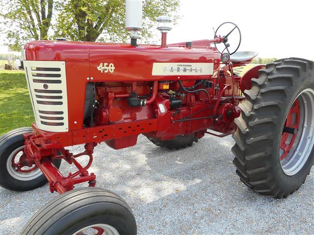 Farmall 450 Tractor For Sale