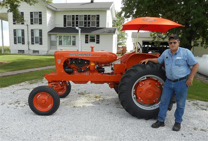 AC Allis Chalmers WD45 tractor for sale