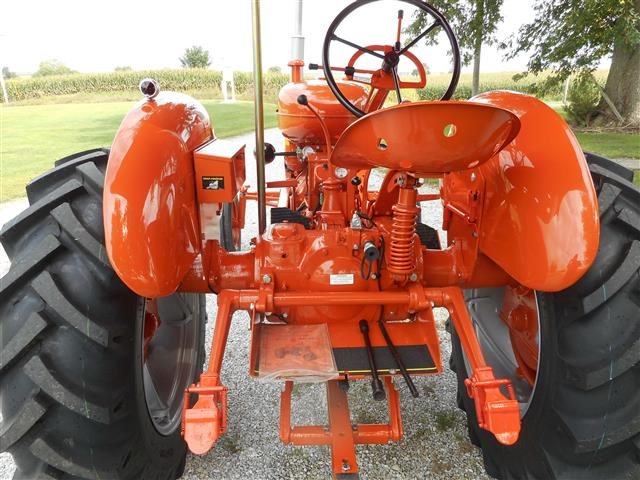 Allis Wd Rear Seat on Allis Chalmers Wd45 Tractor